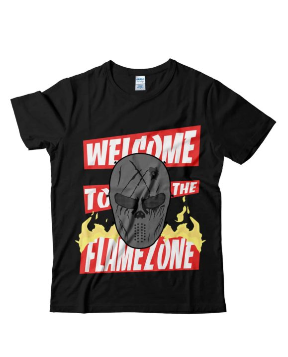 Mr-Flame-tshirt-ufficiale-nera-tubeshop-italia-youtube